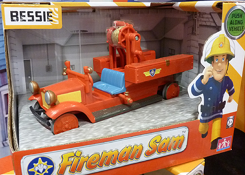 Bessie the Fire Engine from Fireman Sam