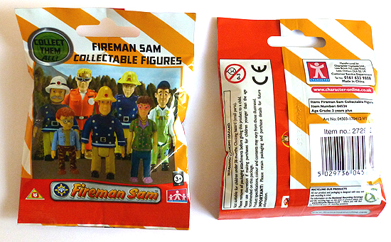Fireman Sam Collectable Figures
