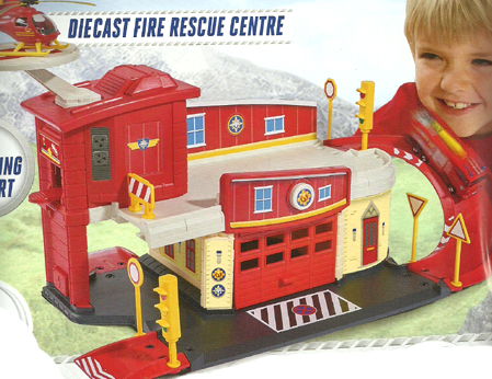 Fireman Sam Diecast Fire Rescue Centre