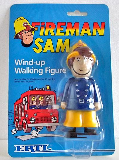 ERTL Fireman Sam Figure