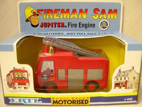 ERTL Fireman Sam Jupiter