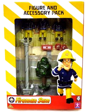 Fireman's Pole Figure and Accesory Pack