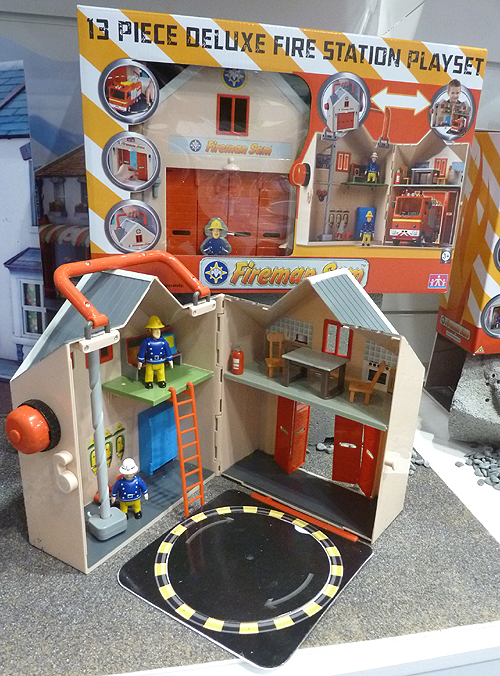 Fireman Sam Fire Station Playset