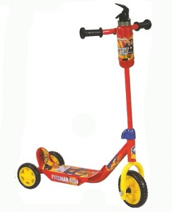 Fireman Sam Scooter with Fire Extinguisher