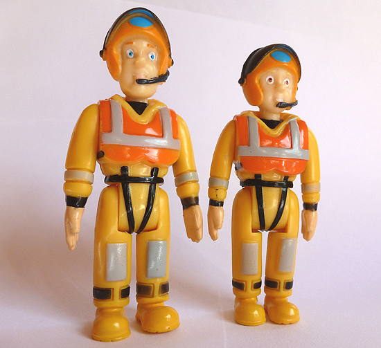 Fireman Sam and Penny Figures