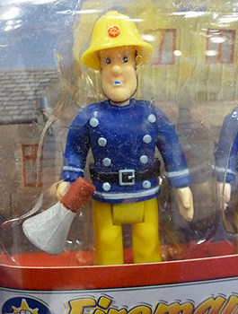 Fireman Sam with Megaphone