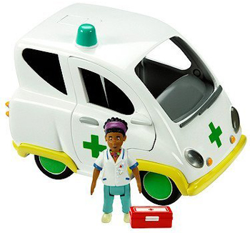 Ambulance and Nurse Flood