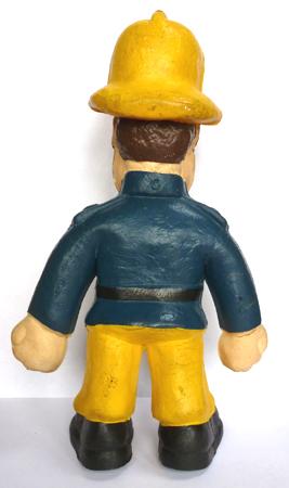 Bendy Toys Fireman Sam (Reverse)
