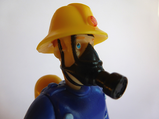Fireman Sam in Oxygen Gear