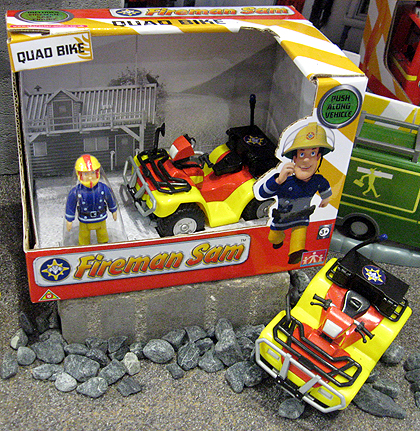 Fireman Sam Quad Bike