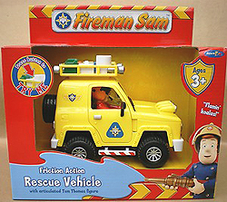 Fireman Sam Rescue Vehicle with Light & Sound Effects