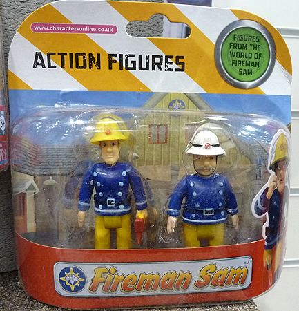 Fireman Sam with Fire Axe