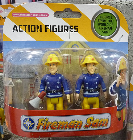 Fireman Sam with Megaphone Figure
