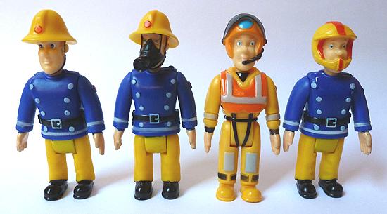 Fireman Sam Figures