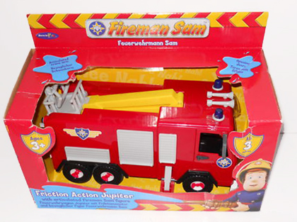 Born to Play Fireman Sam Friction Action Jupiter
