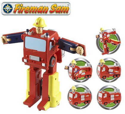 Fireman Sam Jupiter Convertible