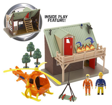 Mountain Lodge Rescue Playset
