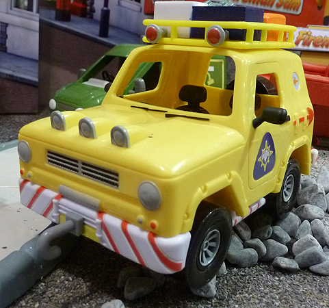 Fireman Sam's Mountain Rescue Toy Vehicle