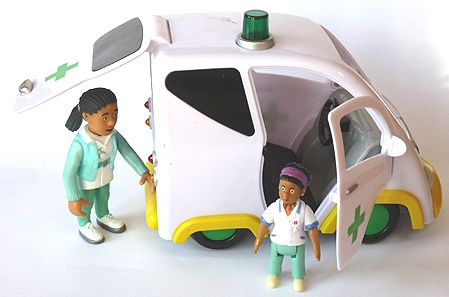 Nurse Flood's Ambulance Fireman Sam Toy