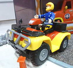 Fireman Sam Quad Bike Toy