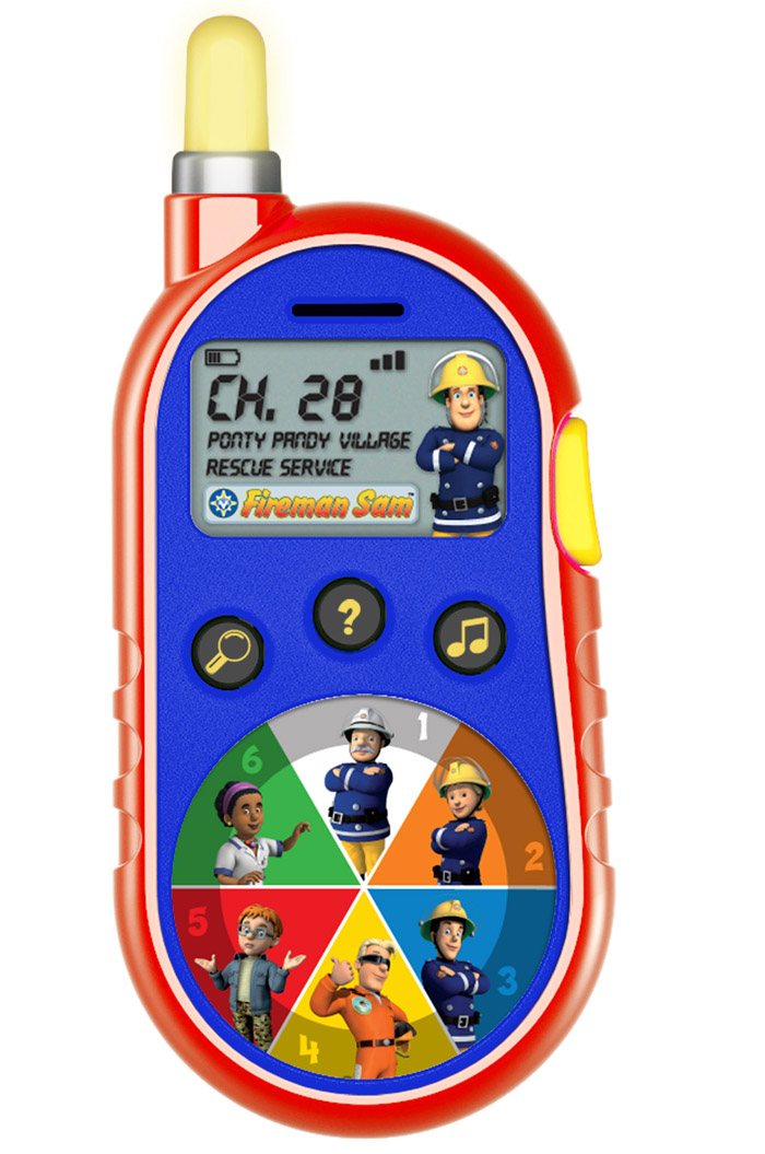 Fireman Sam Rescue Receiver