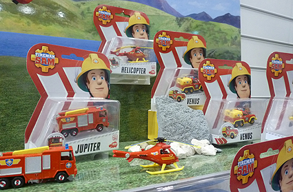 Fireman Sam Rescue Vehicles