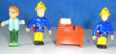 Snaptrax Fireman Sam Figures