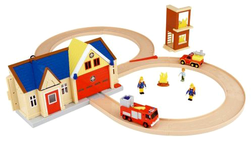 Sam Toys Station Sam Fire Station Playset