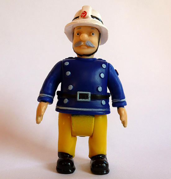 Station Officer Steele Figure