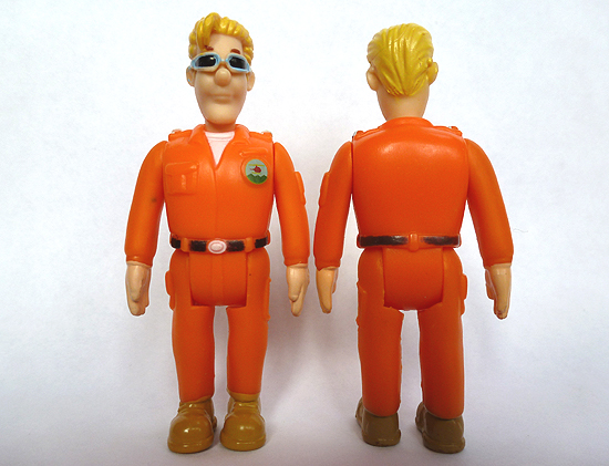 Tom Thomas Figure from Fireman Sam