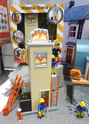 Fireman Sam Training Tower Playset
