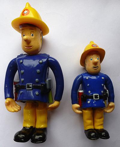 Vintage Fireman Sam Figures