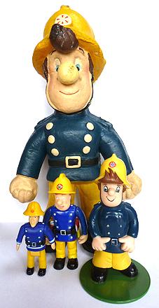 Vintage Fireman Sam Toys